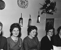 26th November 1964; A photo of people enjoying themselves at the annual dinner for the Caherciveen Guild of the Irish Countrywomen's Association in the Towers Hotel, Glenbeigh.