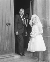 April 1964; A wedding in Ballyheigue.