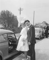 April 1964; A photo taken at a wedding in Ballyheigue.