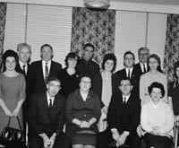 December 1964; A photo taken at the Fleadh na Nollag de Conradh na Gaeilge in the Meadowlands Hotel, Tralee.