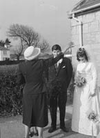 March 1964; A Photo of Kay Dunne's wedding in the Church of the Immaculate Conception (St. Catherine's) Tralee.