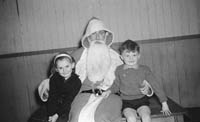 Santa Visits The Eileen Laide Dancing School