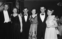 16th February 1954; A Group Posing At The 7th Annual Traly Footwear Dress Dance And Buffet At Ashe Memorial Hall Tralee. Music Supplied By The Alan Beale Orchestra.