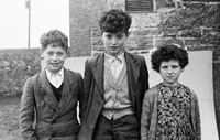 1955; A Group Of School Children Posing For The Camera At A Kerry School.