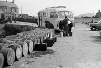 1953; A Photo Of Bus At Valentia Pier.