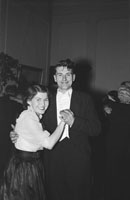 January 1954; A Couple Dancing At The Golf Dress Dance And Dinner In Killarney .