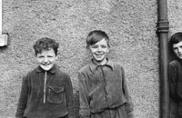 1955; Two School Children Posing For The Camera At A Kerry School.