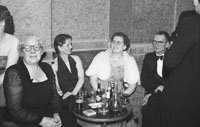 January 1954; A Group Of People Relaxing At The Golf Dress Dance And Dinner In Killarney .