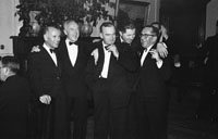 January 1954; A Group Of Men Enjoying Themselves At The Golf Dress Dance And Dinner In Killarney .