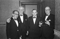 January 1954; A Group Of Men Posing At The Golf Dress Dance And Dinner In Killarney .
