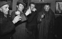 19th February 1954; Men In The Pub Enjoying The Celebrations In Abbeydorney As The Abbeydorney National Ploughing Champions Are Welcomed Home.