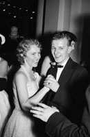 December 1955; A Couple Dancing At The Tralee Rugby Club Dance In Killarney.