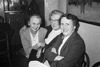 December 1955; Ladies Posing For The Camera At The Tralee Rugby Club Dance In Killarney.