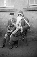 Santa at Murhar National School