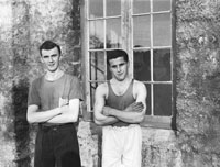 January 1954; Handballers Posing From The Final Of The Gael Linn Handball Championship.