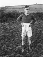 17th January 1954; A Participant Posing At The Kerry Senior Cross-Country Championship At Bullock Hill, Tralee. The Winner Of The Event Was D. Sullivan From Kenmare.