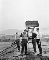 Transatlantic Cables Being Dug Up At Valentia