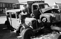Padraig Kennelly Senior's Car