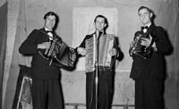 March 1954; Musicians From The Kilflynn Drama Group.
