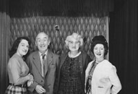 1953; A Studio Photo Of A Family