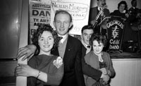 15th February 1962; People enjoying themselves at a dance which took place in Abbeyfeale. Music at the dance was provided by the Gallowglass Ceili Band.