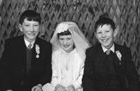 1953; A Studio Photo Of Communion/Confirmation Children.