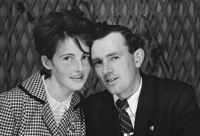 1953; A Studio Photo Of A Couple.