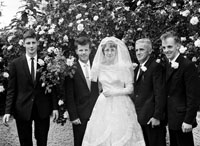 June 1964; A photo taken at the wedding reception of P.J. and Eileen in the Meadowlands Hotel, Tralee.