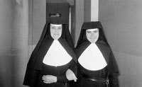 Two Nuns On Dingle Communion Day