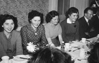 January 1954; A Group At Their Table At A Social At The Meadowlands Hotel, Tralee.