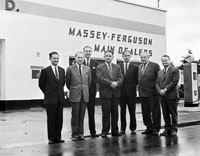 Massey Ferguson Executives at Blennerhasset's Garage