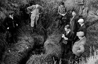 November 1958; The body of 46 year old farmer Mossie Moore is found in a stream near his home in Raemore after a search that lasted eight days.