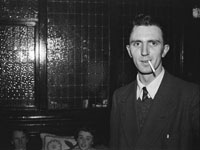 January 1954; Padraig Kennelly Senior Posing At The Dominican Choir Social At The Grand Hotel, Tralee.