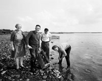 Oyster Fishing in Fenit