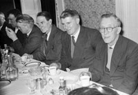 9th March 1957; A photo taken at the Herlihy wedding in the Meadowlands Hotel, Tralee