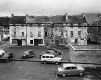 March 1964; A photo of Dominic Street in Tralee before it was demolished.