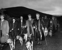5th December 1964; A photo taken at a beagling weekend in Glenbeigh.