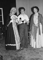 5th December 1955; A Photo of The Johnson Players performing the Drama 'A Murder Has Been Arranged'.