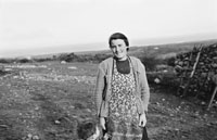 December 1955; A Photo of Mrs. B. O'Shea Cloghane, Irish Press Crossword Winner.