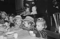 8th December 1955; A Party At Nazarath School, Balloonagh, Held For The Children By The Fianna Fail Club.
