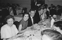 8th December 1955; The Tralee Tennis Dance Held At The Lake Hotel In Killarney.
