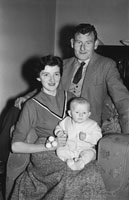 14th December 1955; A Photo Of Florence O'Connor, A Tralee Butcher, With His Family.