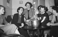 25th December 1955; A Photo Of The Kennelly Family Christmas Celebrations On Christmas Day.