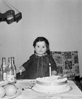 Miss Horan's First Birthday