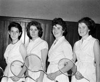 The Clare Badminton Team