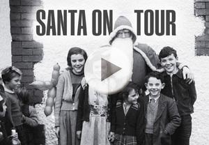 Santa on tour!