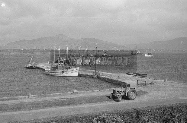 1953; A Scenic View Of Valentia Pier.