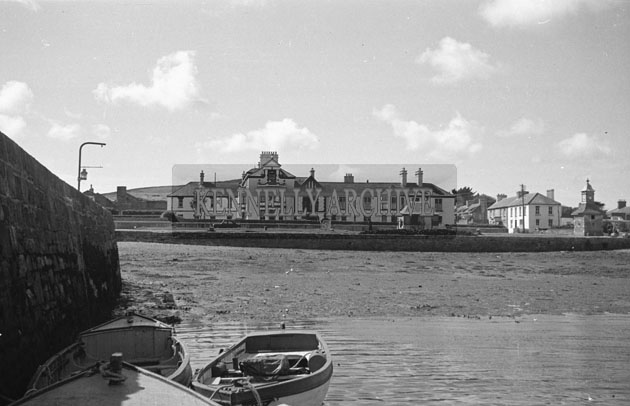 1953; A Scenic View Of The Royal Hotel On Valentia Island.