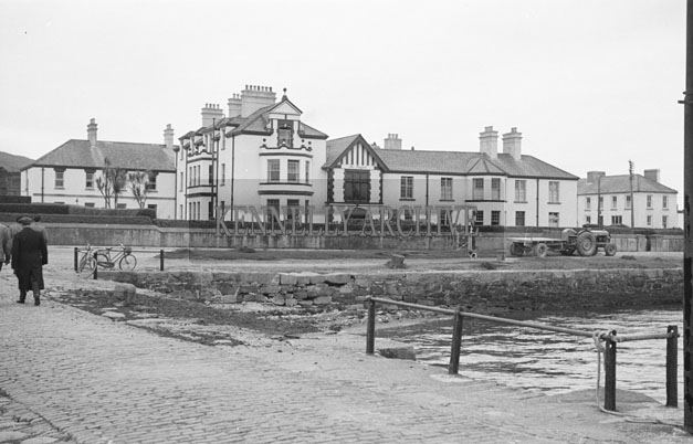 1953; A Photo Of The Royal Hotel On Valentia Island.