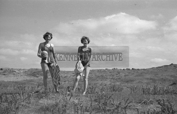 1953; Two Ladies Enjoying Themselves On Valentia Island.
